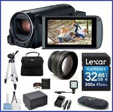 Canon VIXIA HF R800 Camcorder (Black) 11-Piece Bundle - Canon Authorized Dealer!