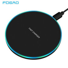 FDGAO 10W Fast Wireless Charger For Samsung Galaxy & Iphone