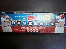 2008 TOPPS BASEBALL COMPLETE SET (660 CARDS)