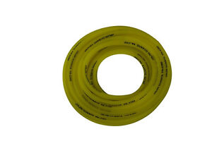 """10 Meter YELLOW PVC Fuel Line 1/4"""" ID x 3/8"""" OD Chinese Scooter Moped ATV"""