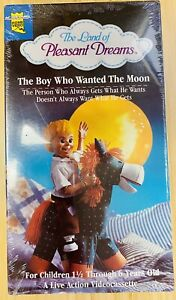 the land of pleasant dreams the boy who wanted the moon vhs New Sealed RARE🔥