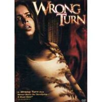 Wrong Turn (DVD, 2003, Dual Sided) NEW