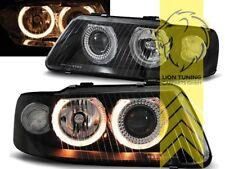 DEPO Angel Eyes Scheinwerfer für Audi A3 8L Facelift schwarz