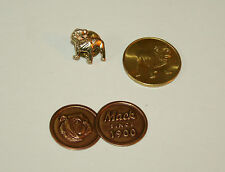 3 Rare Mack Truck Bull Dog Item Set Pin You Make Coin Envelope Seal 60s NOS New