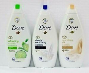 Mix Lot Bundle of 3 Brand New Dove Bodywash 500ml-Each
