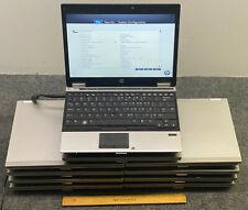 "Lot of 10 HP EliteBook 2540p 12.1"" Laptop i7-1st Gen, 2GB, Boots to BIOS"