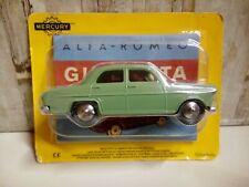 Modellino Die Cast HACHETTE Mercury Alfa Romeo Giulietta N° 17 Verde 1/43 Nuovo