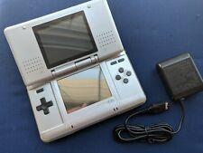 New listing Nintendo Ds original fat Titanium Silver Handheld System Ntr-001