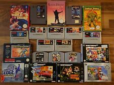Nintendo NES, Snes, N64 Spiele (Mario Kart, Party, World, Micro Machines, Zelda)