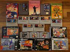 Nintendo NES, Snes, N64, Gamecube Spiele (Auswahl)