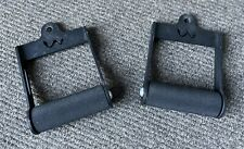 Watson Gym Thick Grip Rolling Handles X2