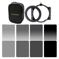 Square ND24816 Filter Kit Set+Holder+Adapter Ring 67/72/77/82mm For Cokin Z+Case