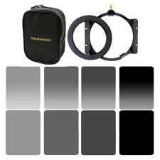 8in1 ND24816 Square Filter Kit +Adapter Ring 72mm+Holder for Cokin Z+Case