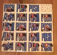 Bros ‎– Push Vinyl LP Album 33rpm 1988 CBS ‎– 460629 1 * Autographed *