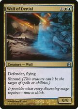 Wall of Denial Commander NM White Blue Uncommon MAGIC GATHERING CARD ABUGames