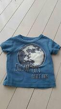 JOE FRESH DREAM BIG LITTLE ONE BLUE PYJAMA SHIRT BABY BOY 1 YEAR / 12 MONTHS