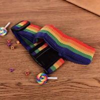Reisegepäck Koffer Gurt Gepäck Rucksack Tasche Regenbogen Gürtel Adj oben F V1O8