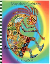Coloring Book Mystical Critters Animal Spirits 15 Pages EARTH ART Sue Coccia New