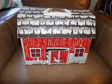 Vinyl over cardboard Fold Out Barn Play Set