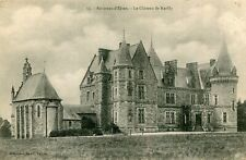 ELVEN LOT de 2 cartes sur le château de Kerfily