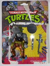 1988 TMNT Teenage Mutant Ninja Turtles figure Rocksteady - complete