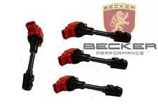 Becker 22448-8H300 4-Pcs Ignition Coil Kit Fits 03-06 Altima Sentra 2.5L QR25DE