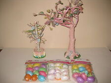 Easter Egg Trees by Ganz & Foam Egg Ornaments