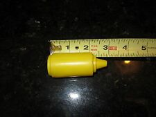 Fisher Price Fun with Food Mustard bottle french fries hot dog hamburger short y