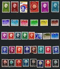 HOLLANDE 36 timbres oblitérés,d'usages courant ref 4T1