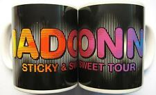 "Madonna TAZZA ""Sticky & Sweet Tour"" Tazza di caffè-MUG"