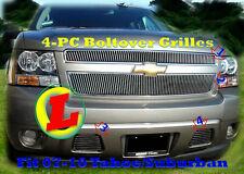 07-14  2009 2011 2012 2013 2008 2014 2010 Chevy Tahoe Suburban Billet Grille 4PC