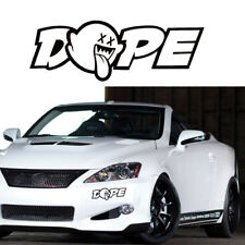 1pc The JDM Dope Custom Car Rear Trunk Window Drift Illest Vinyl Decal Sticker