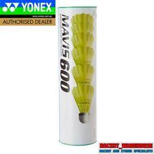 2 X TUBES YONEX MAVIS 600 BADMINTON SHUTTLES SHUTTLECOCKS RED/FAST YELLOW SKIRT