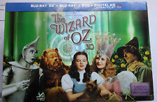 Wizard Of Oz 75th Anniversary Limited Edition Blu-Ray, 3D, Exclusive Flash Drive