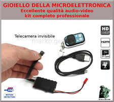 SPY CAMERA SPIA FULL HD MOTION DETECTION TELECAMERA NASCOSTA FOTO INVISIBILE