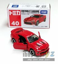 TAKARA TOMY TOMICA 40 CHEVROLET CAMARO 1st launch red *FREE SHIPPING WORLDWIDE