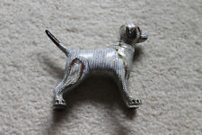 """Very Neat Antique/vintage Chinese enamel dog  - 6""""W x 4-1/2""""H"""