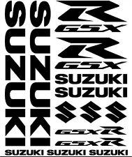 14 Sticker SET Suzuki Aufkleber Motor Bike Tuning
