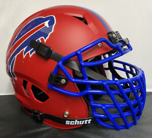 Buffalo Bills Custom Full Size Authentic Schutt Vengeance Football Helmet NEW!