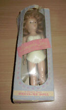 Vintage Lingerie Lou Dress Me Doll Cream Plastic Bra Panties Original Box