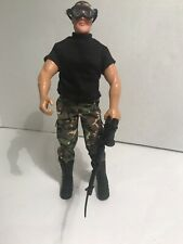 "1992 HASBRO  G I JOE 12"" TALL WITH RIFLE & GOGGLES"
