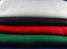Filzzuschnitte 4x 0,5m Filz, Bastelfilz, Synthetik, grün, rot, schwarz, weiß