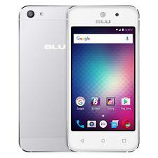 BLU Vivo 5 Mini Unlocked GSM 4 Display Quad-Core Dual-SIM Smartphone - Silver