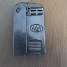 Vintage AAA Auto Club Lighter - Made in USA Regens