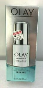 Olay Luminous Miracle Boost Concentrate Advanced Tone Perfecting Face Serum 1 fl