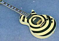 Custom Zakk Wylde Bullseye LP Electric Guitar FREE SHIPPING
