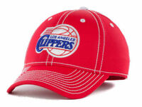Los Angeles Clippers adidas NBA Primary Team Flex Fitted Cap Hat - Size: S/M