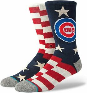 STANCE CHICAGO CUBS ALL STAR JERSEY SOCKS LARGE 9-13 BRIGADE 2 NEW BAEZ BRYANT L