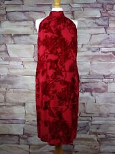 PRECIS PETITE red dress silk blend BNWT size 16 party