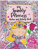 Princess Sticker Activity Book with over 200 Stickers and Press-Outs  - New